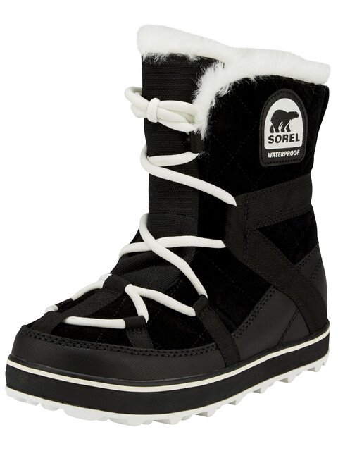 Sorel W's Glacy Explorer Shortie Boots Black